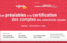 certification compte collectivitees locales